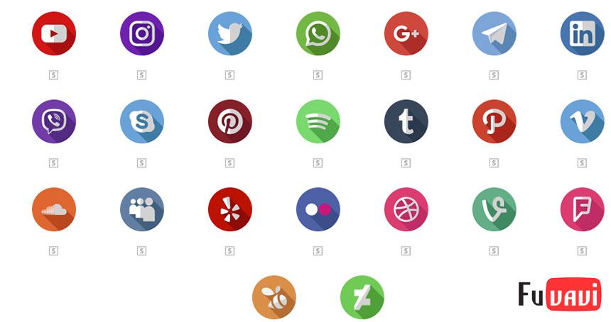 Share những gói icon thường được sử dụng trong thiết kế.